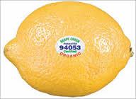 lemon plu code